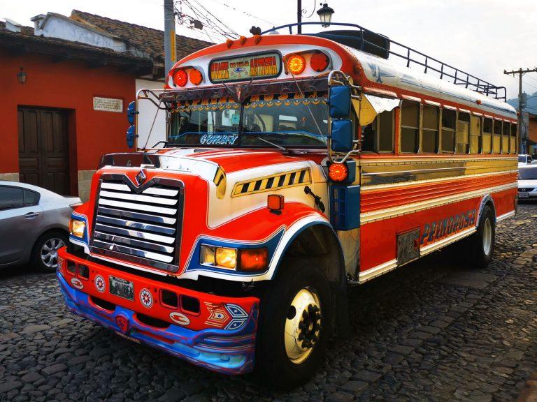 come andare da antigua a citta del guatemala chicken bus